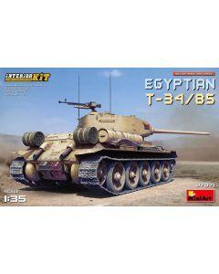 Plastbyggesett, miniart-37071-egyptian-t-34-85-with-full-interior-scale-1-35, MIA37071