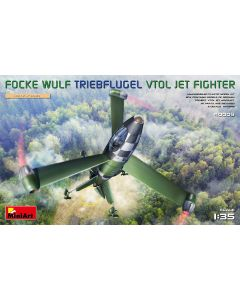 Plastbyggesett, miniart-40009-focke-wulf-triebflugel-vtol-jet-fighter-scale-1-35, MIA40009