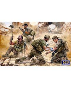 Plastbyggesett, masterbox-35207-danger-close-sot-special-operation-team-present-day-modern-war-era-series-scale-1-35, MBX35207