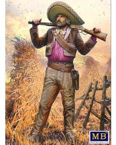 Plastbyggesett, masterbox-35205-outlaw-gunslinger-pedro-melgoza-bounty-hunter-historical-miniatures-series-scale-1-35, MBX35205