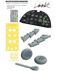 Plastbyggesett, eduard-644066-spitfire-mk-1-early-look-plus-for-eduard-kit-scale-1-48, EDU644066