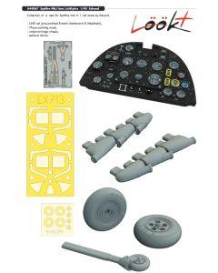 Plastbyggesett, eduard-644067-spitfire-mk-1-late-look-plus-for-eduard-kit-scale-1-48, EDU644067