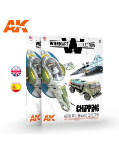 Bøker, ak-interactive-ak-4903-wornart-collection-2-chipping-english-book, AKI4903