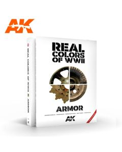 Bøker, ak-interactive-ak-299-real-colors-of ww2-armour-book, AKI299