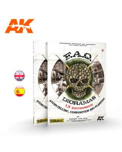 Bøker, ak-interactive-ak8150-faq-dioramas-1-3-extention-storytelling-composition-and-planning-english-book, AKI8150
