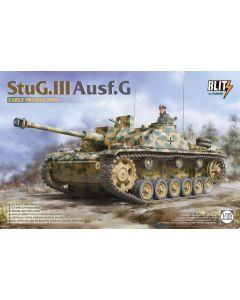 Plastbyggesett, takom-blitz-8004-stug-3-ausf-g-scale-1-35, TAK8004