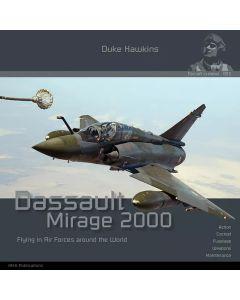 Bøker, duke-hawkins-003-dassault-mirage-2000-book, DHA003