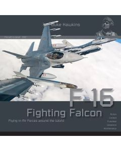 Bøker, duke-hawkins-002-f-16-fighting-falcon-book, DHA002