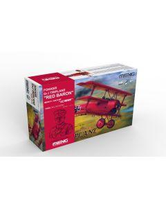 Plastbyggesett, meng-qs-002s-fokker-dr-1-triplane-red-baron-bust-manfred-von-richthofen-limited-edtion-scale-1-32, MNGQS002S