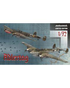 Plastbyggesett, eduard-2132-adlertag-bf-110-c-d-battle-of-britain-limited-edtion-scale-1-72, EDU2132