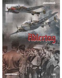 Plastbyggesett, eduard-11145-adlertag-bf-110-c-d-battle-of-britain-limited-edtion-scale-1-48, EDU11145
