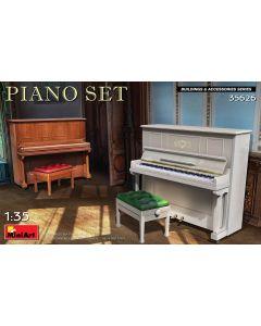 Plastbyggesett, Piano Set 1/35 , MIA35626