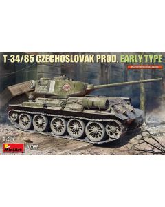 Plastbyggesett, miniart-37085-t-34-85-czechoslovak-production-scale-1-35, MIA37085