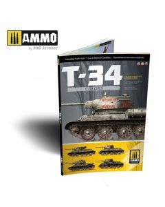 Bøker, ammo-by-mig-jimenez-mig-6145-t-34-colors-tank-camouflage-patterns-in-ww2-english-book, MIG6145