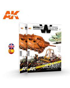 Bøker, Worn Art Collection #3, Chernobyl, AKI4905