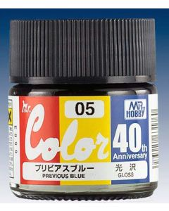 Mr. Hobby, mr-hobby-avc-05-40th-anv-previous-blue-10-ml-mr-color, MRHAVC05