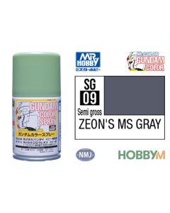 Mr. Hobby, mr-hobby-sg-09-ms-zion-gray-100-ml-gundam-color-spray, MRHSG09
