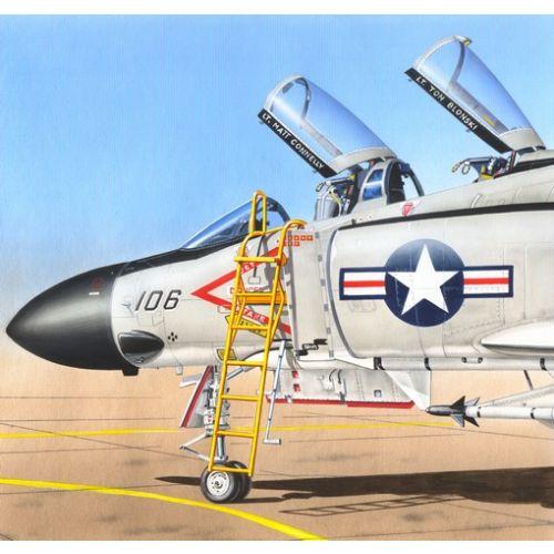 Plastbyggesett, Ladder for F4 Phantom II 1/48, PLMAL4050