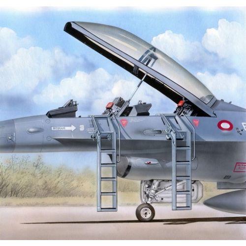 Plastbyggesett, Ladder for F-16 B/D 1/48, PLMAL4042