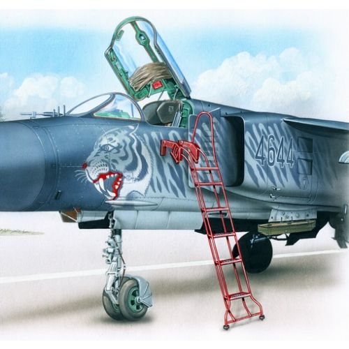 Plastbyggesett, Ladder for MiG-23 1/48, PLMAL4038