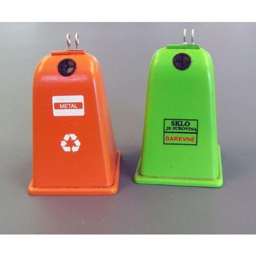 Plastbyggesett, Sorted Waste Containers 1/35, PLM435