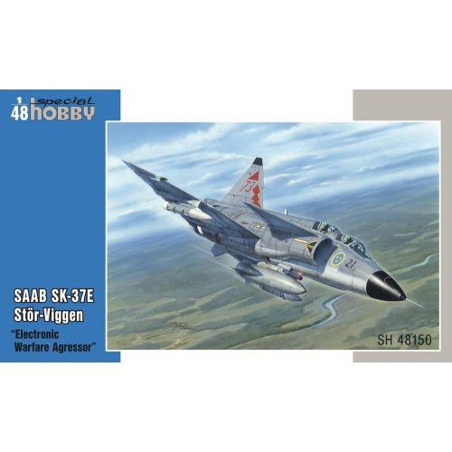 Plastbyggesett, special-hobby-sh-48150-saab-sk-37e-stor-viggen-electronic-warfare-agressor-scale-1-48, SPHSH48150
