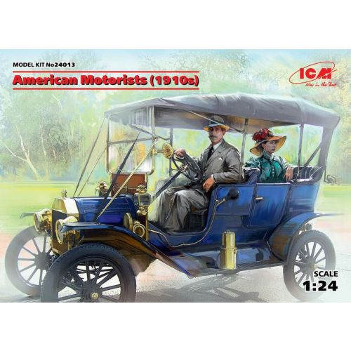 Plastbyggesett, icm-24013-american-motorists-1910s, ICM24013