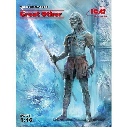 Plastbyggesett, icm-16202-great-other-white-walker-game-of-thrones-scale-1-16, ICM16202