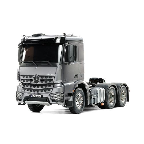 Tamiya RC Lastebil, tamiya-56359-mercedes-benz-mb-arocs-3363-6x4-classic-space-light-gun-metal-edition-scale-1-14, TAM56359