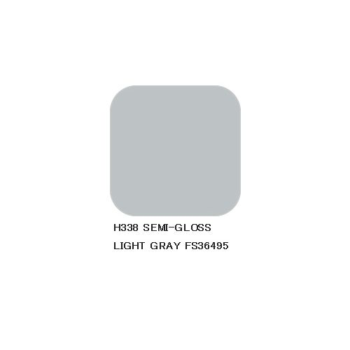 Mr. Hobby, mr-hobby-h-338-light-gray-fs-36495-10-ml-aqueous-hobby-color, MRHH338