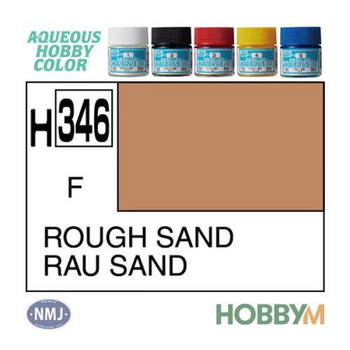 Mr. Hobby, mr-hobby-h-346-rough-sand-10-ml-aqueous-hobby-color, MRHH346
